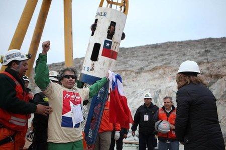 El espectáculo televisivo de los mineros de Chile