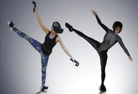 Espectacular registro de movimientos en tiempo real de un cuerpo: HTC Vive conoce a Project Orion