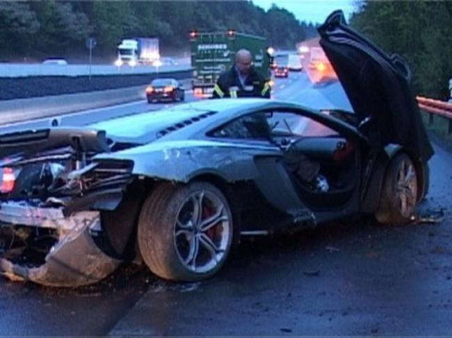 Accidente McLaren MP4-12C