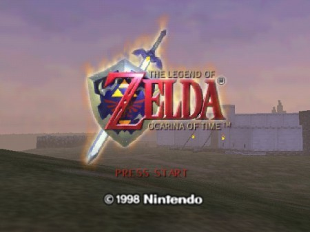 Zelda Ocarina of Time en la Consola Virtual de Wii