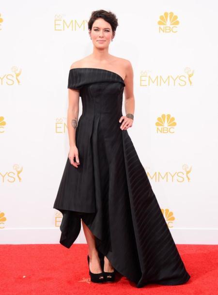 Lena Headey triunfa con su Rubin Singer en los #Emmys2014