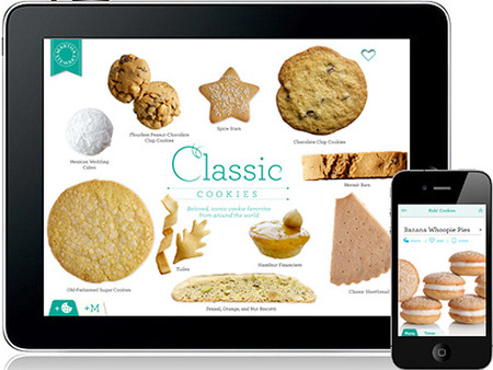 Cookies de Martha Stewart: App para Iphone e Ipad
