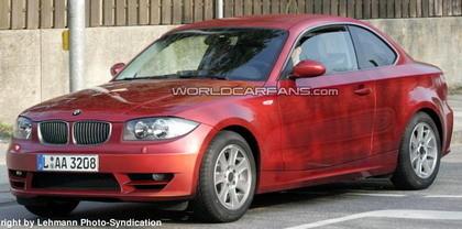 El BMW Serie 1 Coupé va tomando forma