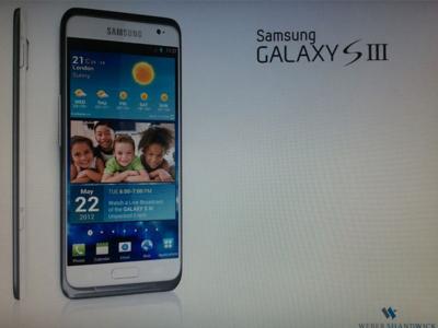¿Samsung Galaxy S3 con carga inalámbrica de serie?