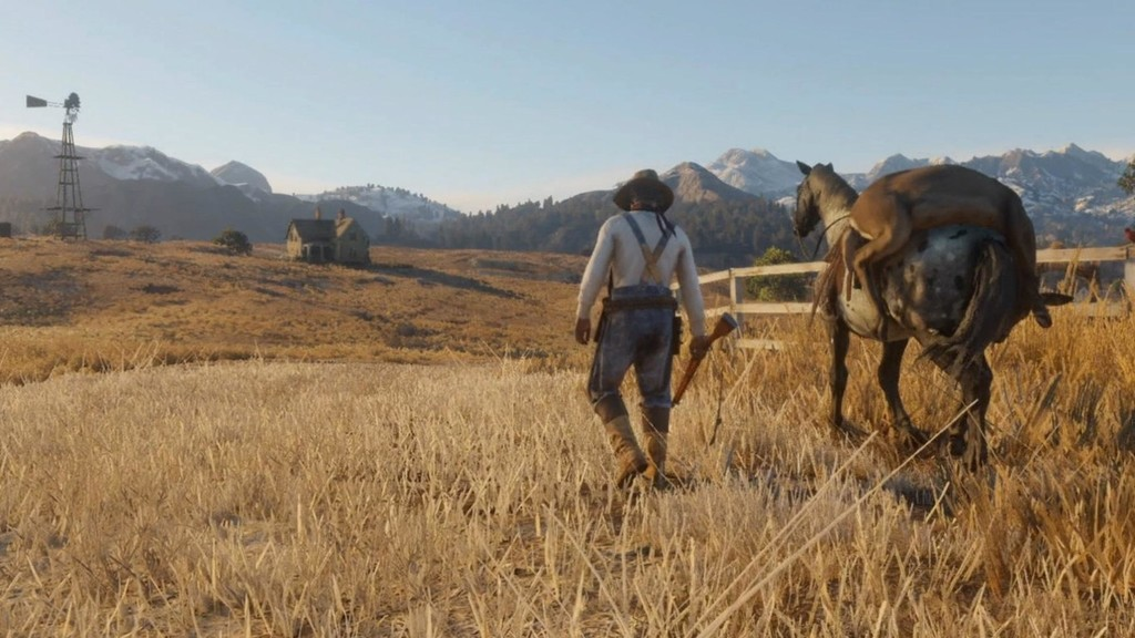 Red Dead Redemption 2 Mapa