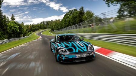 Así intervienen los modos de conducción del Porsche Taycan, el primer coche eléctrico deportivo de Porsche