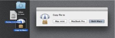 Un AirDrop casero, con una combinación de Applescript, Dropbox y Hazel
