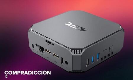 Este completísimo Mini PC es perfecto para la tele y sólo hoy lo puedes comprar en Amazon por menos de 200 euros
