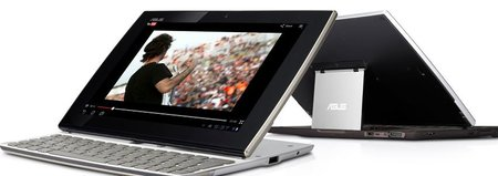 ASUS Eee Tablet Pad, la nueva tablet con teclado QWERTY integrado