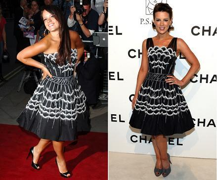 Vestido de Chanel: ¿Lilly Allen o Kate Beckinsale?