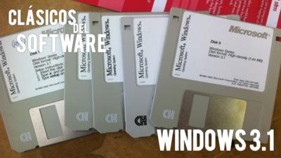Windows 3.1. Clásicos del software (III)