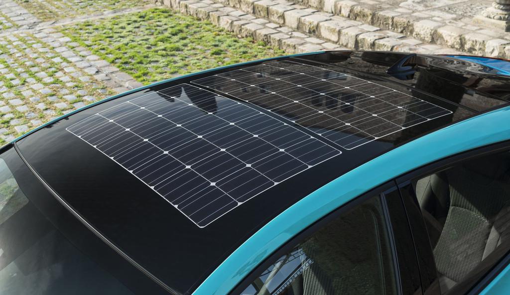 Toyota Prius Phev Techo Solar