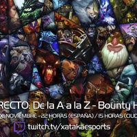 """Bounty Hunter en directo con la sección """"Dota 2 de la A a la Z"""" a las 22:00 horas (las 15:00 en Ciudad de México) [Finalizado]"""