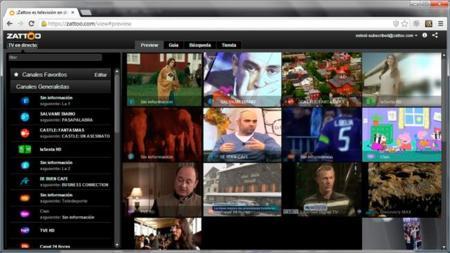 Zattoo ahora permite grabar programas directamente en la nube