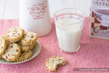 Receta de galletas de cereza y avellanas, para desayunos y meriendas deliciosos