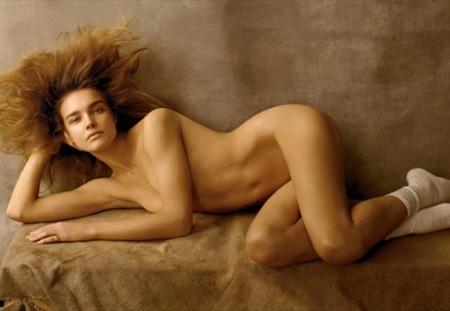 Natalia Vodianova para Vogue US por Steven Meisel