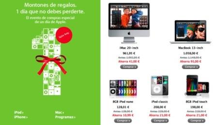 Empieza el día de compras especial de Apple