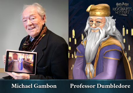 Harry Potter Hogwarts Mystery Dumbledore