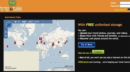 TripnTale, espacio ilimitado para tus fotos de viaje