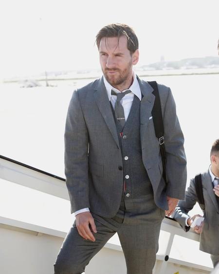 El Barcelona se viste por primera vez de Thom Browne de cara a la Champions League