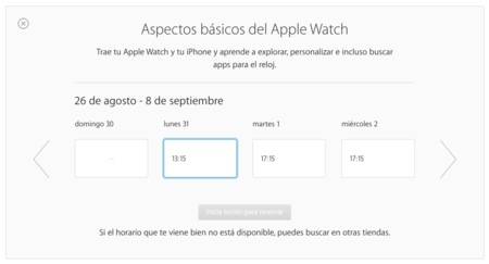 Web Apple Hora Talleres