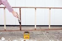 Hazlo tú mismo: construye una escalera en la que colgar tus mantas