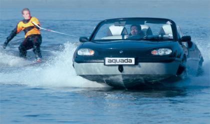 Aquada, un coche anfibio