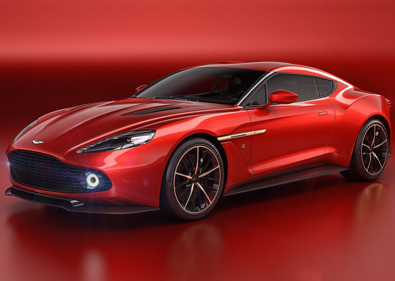 Foto de Aston Martin Vanquish Zagato Concept (1/9)