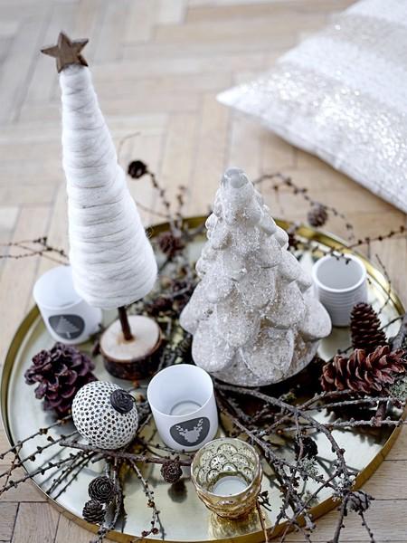 Decoración nórdica de Navidad