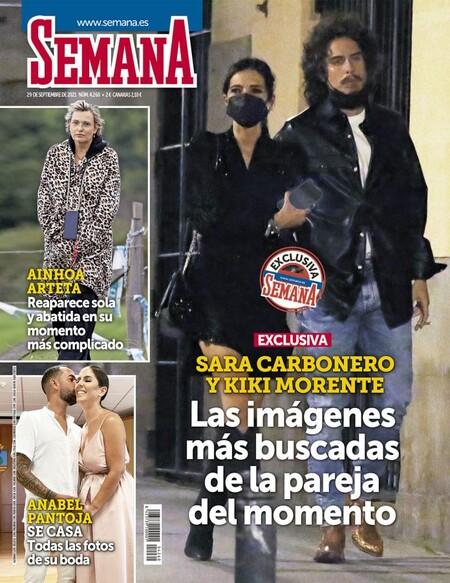 Sara Carbonero y Kiki Morente en Semana