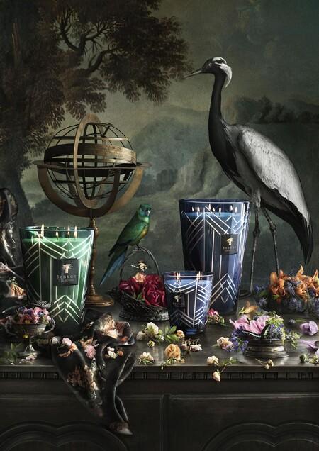 El otoño más elegante y sofisticado con High-Society  o la nueva colección de velas de Baobab