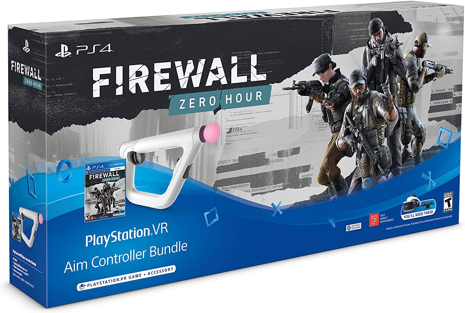 PlayStation4 VR - Firewall: Zero Hour + Aim Controller