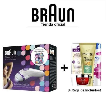 La depiladora IPL Braun Silk-expert 3 a precio mínimo en eBay: por 127,99 euros gracias a este cupón