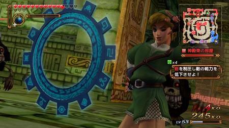 Juega con Link fabuloso en Hyrule Warriors