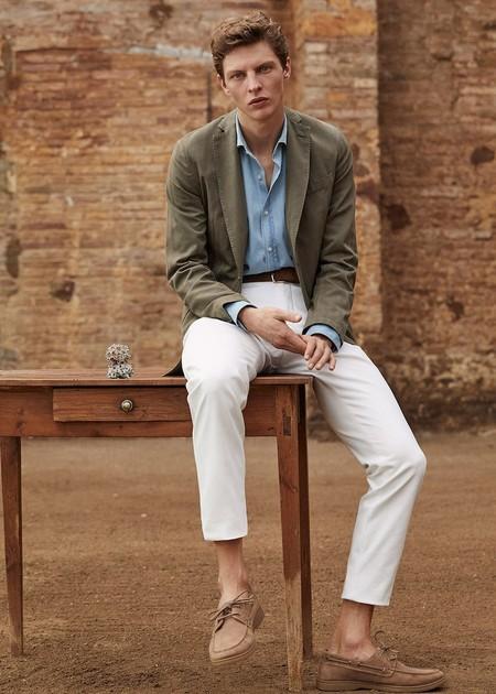 Massimo Dutti lo sabe: este verano tus compañeros infalibles serán los pantalones blancos