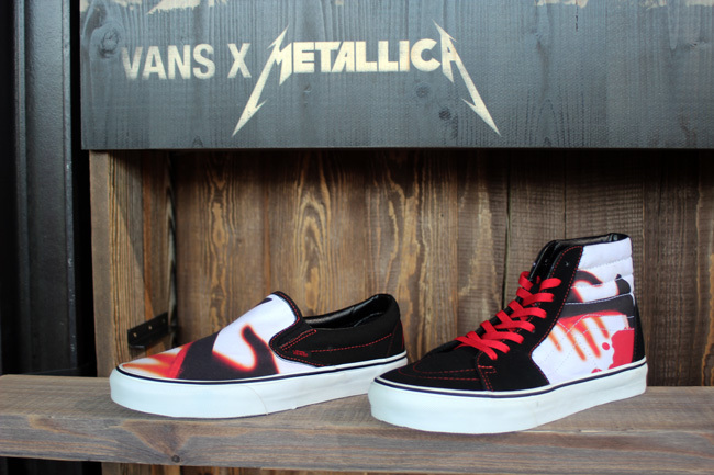 Zapatillas Vans Metallica 1