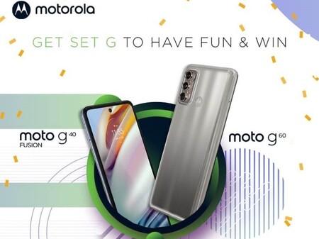 Motorola Moto G40 Fusion Moto G60 Nuevos Lanzamientos