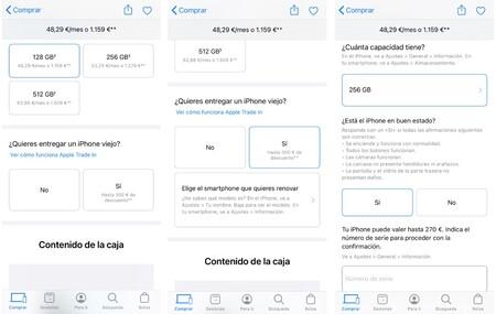 Compra Iphone Apple Store