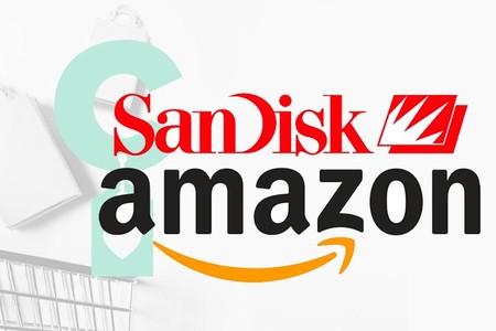 Ofertas SanDisk de la semana en Amazon: tarjetas de memoria, discos duros SSD y pendrives a precios bajos