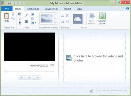 how to use windows live movie maker 2012