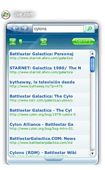 Widget de Microsoft para el Dashboard