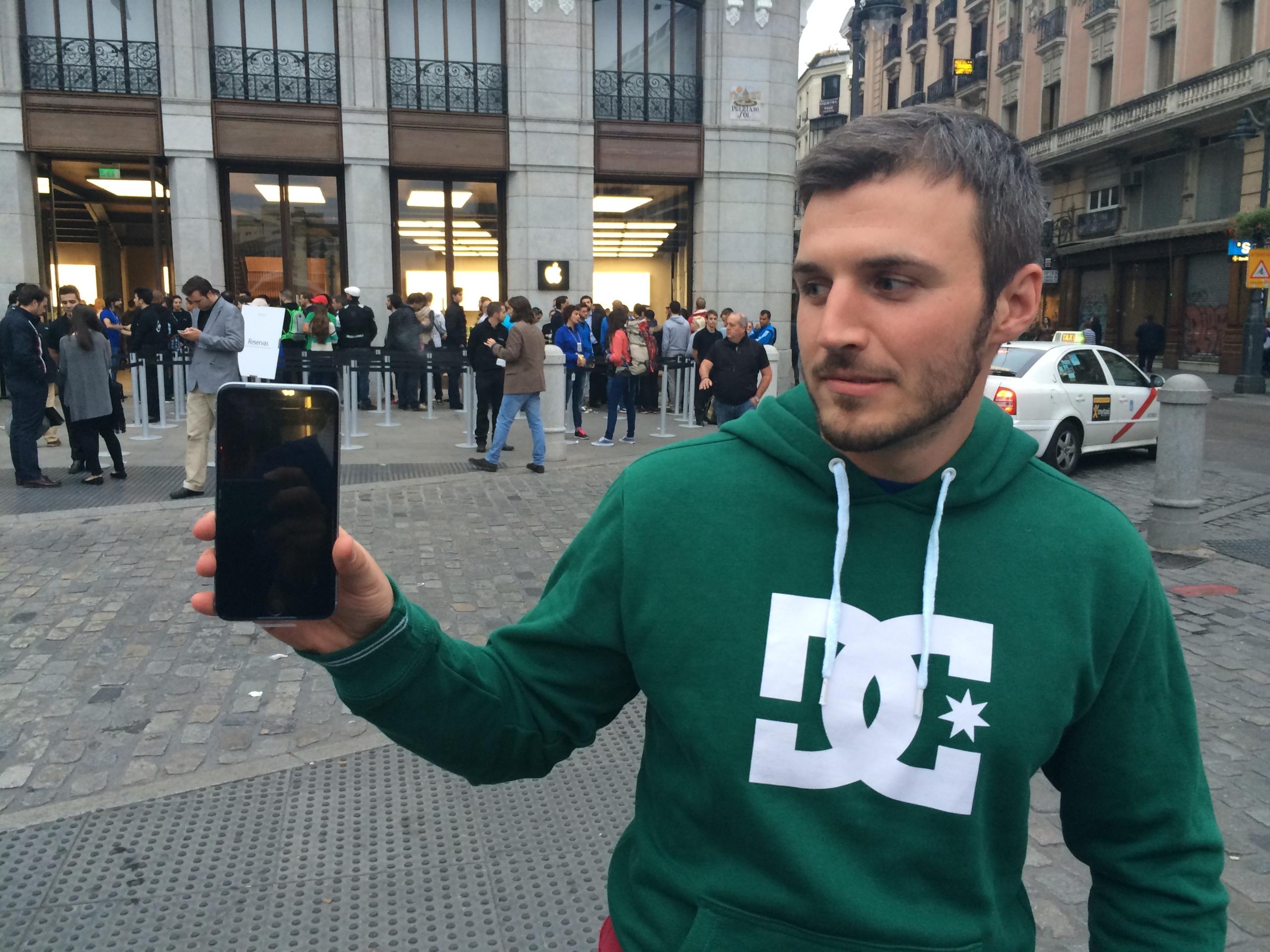 Foto de Lanzamiento iPhone 6 Puerta del Sol (7/10)
