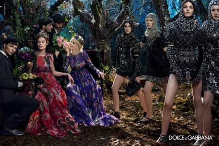 Balti Dolce Gabbana invierno 2014
