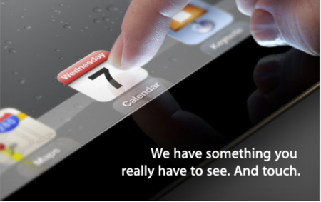 Apple envía invitaciones para un evento en San Francisco sobre el iPad el 7 de Marzo