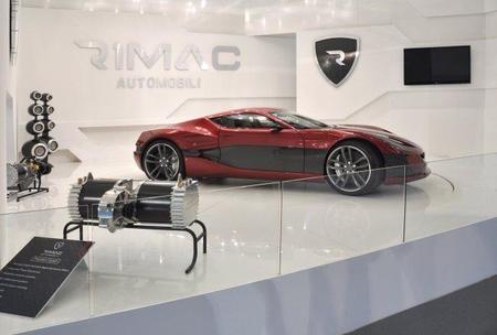 Rimac presenta oficialmente el Concept One en Fráncfort