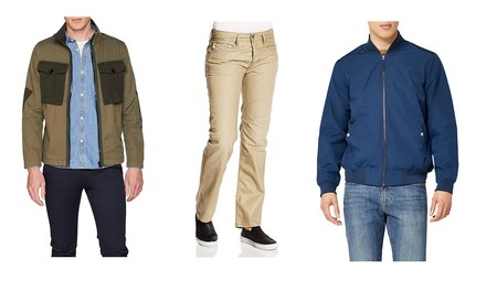 Chollos en tallas sueltas de pantalones y chaquetas Diesel, Levi's, G-Star o The North Face en Amazon
