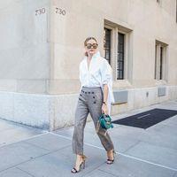 Es posible que Olivia Palermo te inspirará en tus próximos looks de oficina