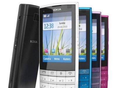 Nokia X3-02, con teclado clásico y pantalla táctil
