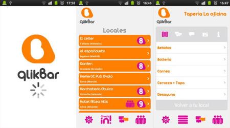 qlikBar, la red social para bares que te permite pedir tus consumiciones desde tu Android