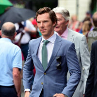 Nos quedamos en Wimbledon: así de bien van Bradley Cooper y Benedict Cumberbatch a ver los partidos de tenis